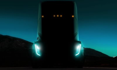 Tesla set to unveil electric HGV