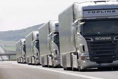 Haulage industry views on platooning