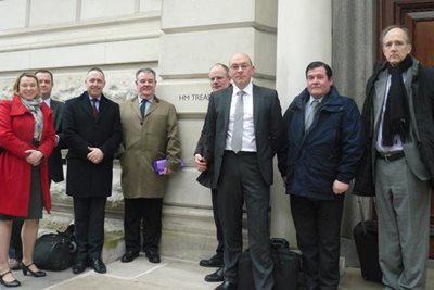 RHA & FTA meet with Treasury to discuss HGV driver shortage