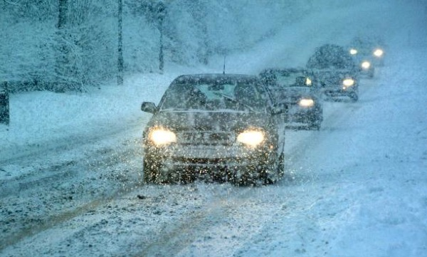 Drivers faced with treacherous conditions on roads