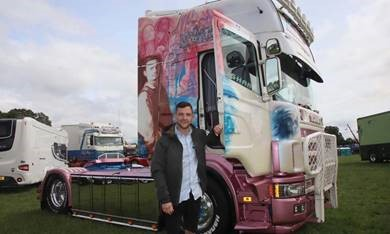 Trucks at festival in Whitchurch impress