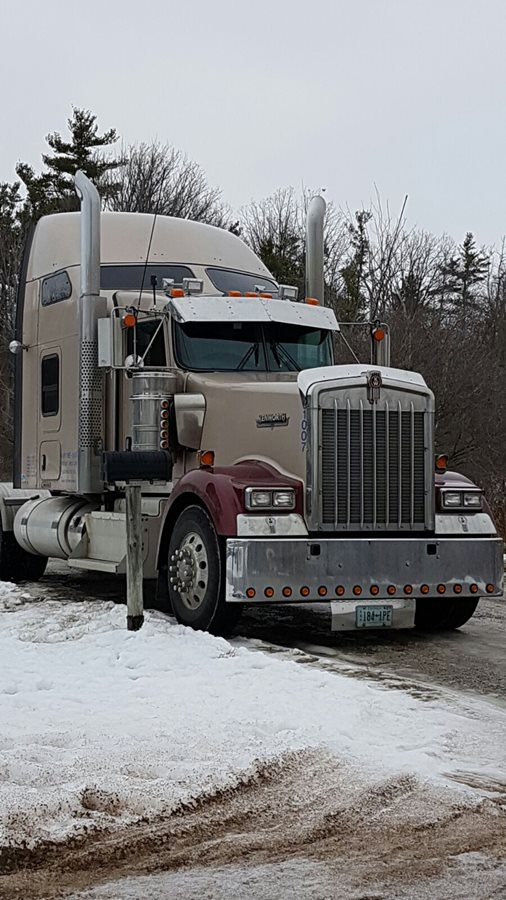 One of our Canadian trucks