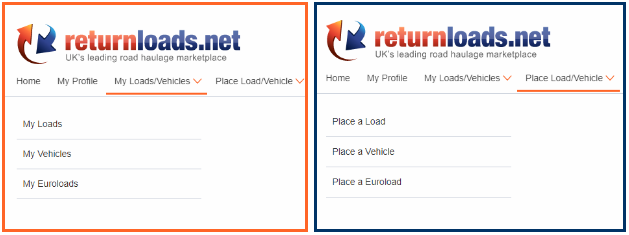 Place Load/Vehicle - Place Euroload