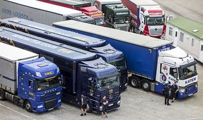 Truckers lack parking spaces across the UK