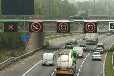 Fixed penalties for ignoring lane warnings