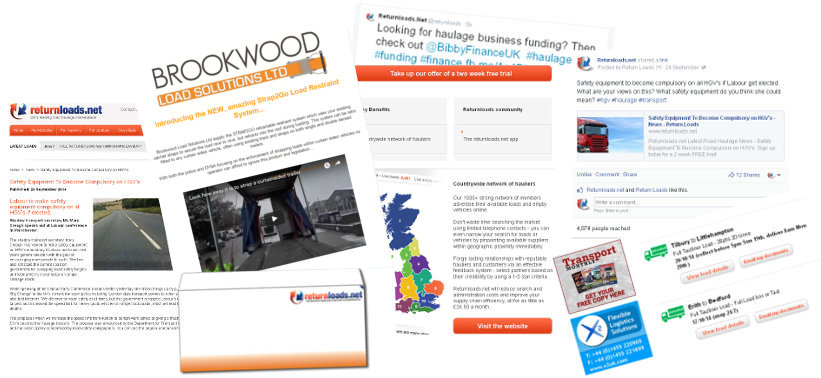 advertising opportunities   Haulage and Transport