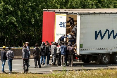 Hauliers to sue Home office over migrant fines.