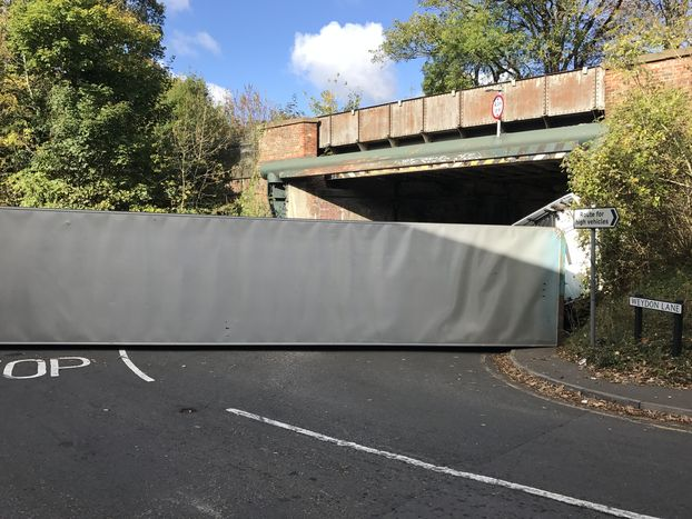 New safety campaign after HGV hits bridge