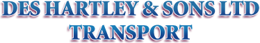 Des Hartley and sons Transport