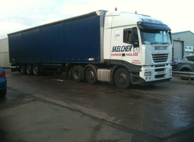 One of our Artic Curtainsiders