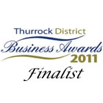 Finalist in 2011 Business awards