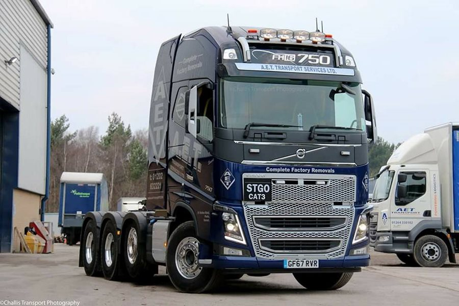 Volvo FH 16 750 8x8 150 tonne Tractor