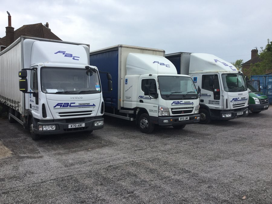 Our fleet of 7.5t