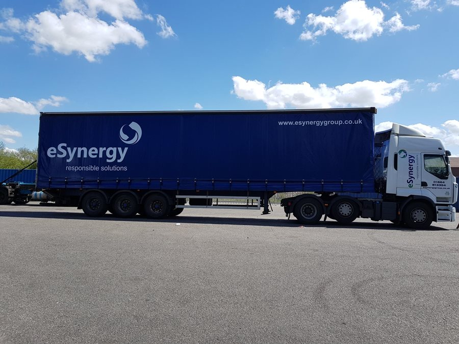 Renault with another eSynergy Trailer