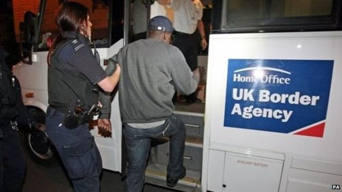 UK Border Force - Migrant fines